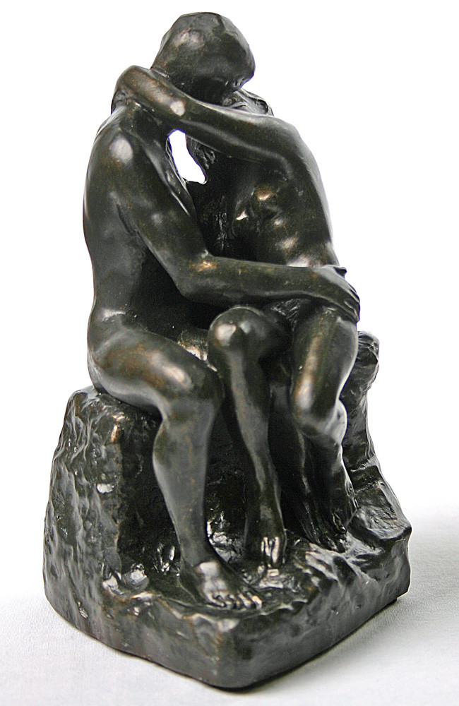 The Kiss by Auguste Rodin, Image Credit: eMuseumstore