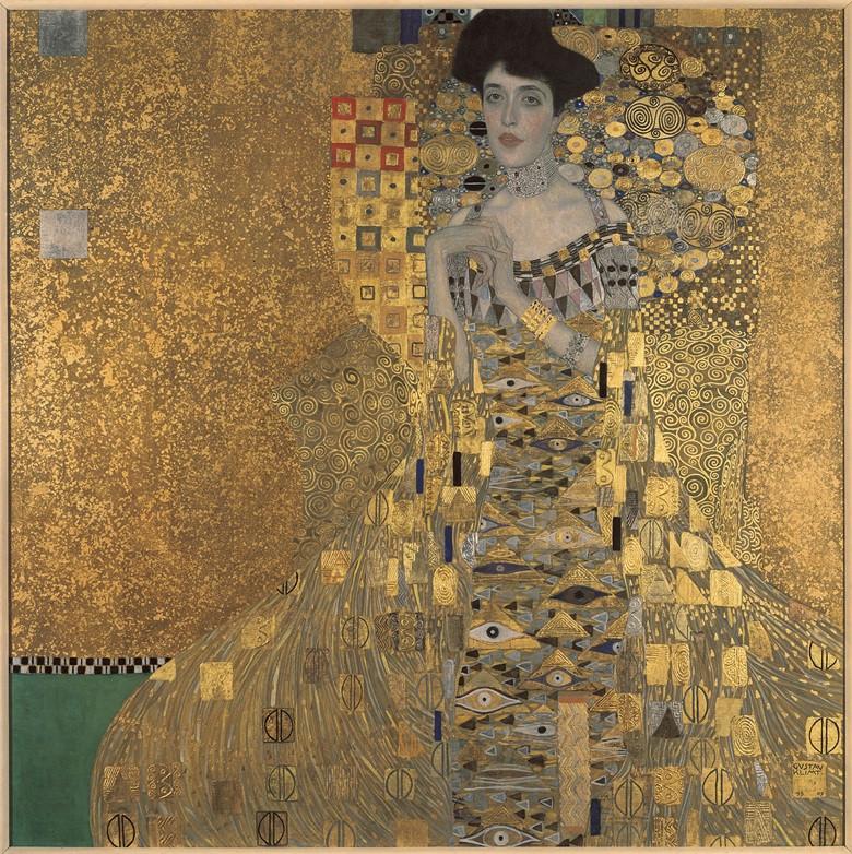Gustav Klimt, Adele Bloch-Bauer I, 1907. Image credits: Christie's