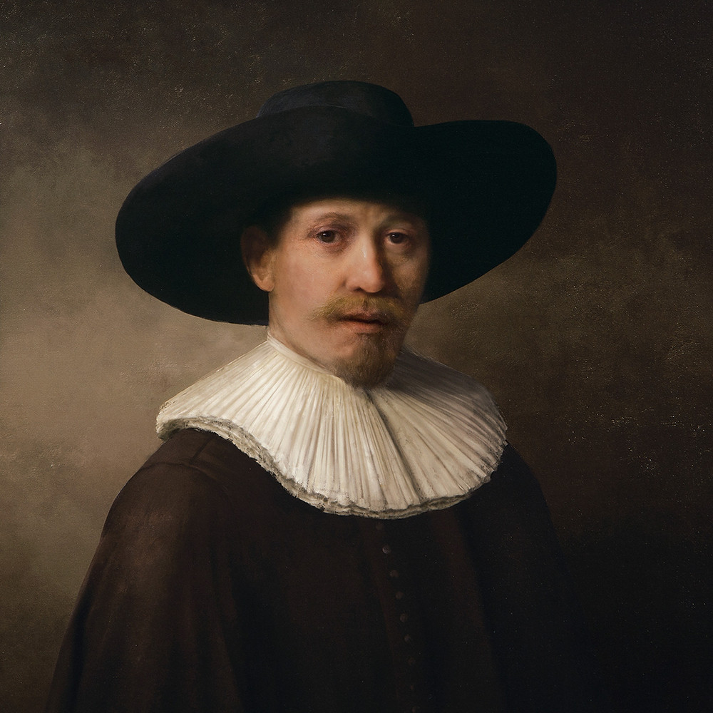 The Next Rembrandt, created by AI.  Image Courtesy : Adweek