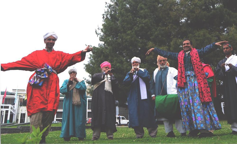 Bhand Artists from Kashmir