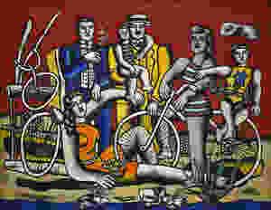 Fernand Legér, 'Les Deux Bicyclettes', 1944