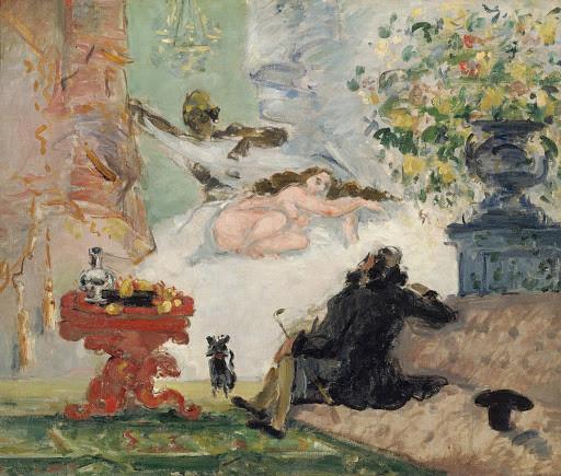 A Modern Olympia, Cézanne | Source: Wikimedia Commons