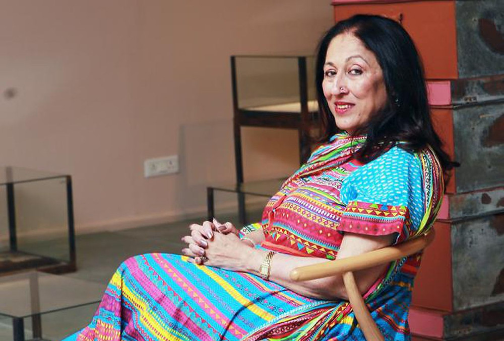 Kiran Nadar, Founder and chairperson of the  Kiran Nadar Museum of Art