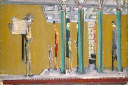 Untitled (Subway), 1937. Photo: National Gallery of Art, Washington D.C.
