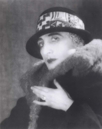 Photograph of Rrose Sélavy (Marcel Duchamp) by Man Ray | Source: Wikimedia Commons