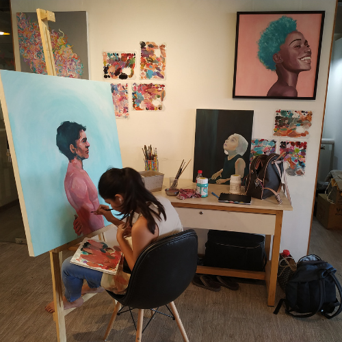 Studio Spaces at ArtBuzz Studios