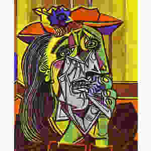 'The Weeping Woman', Pablo Picasso, 1937 Courtesy: Project Artistx