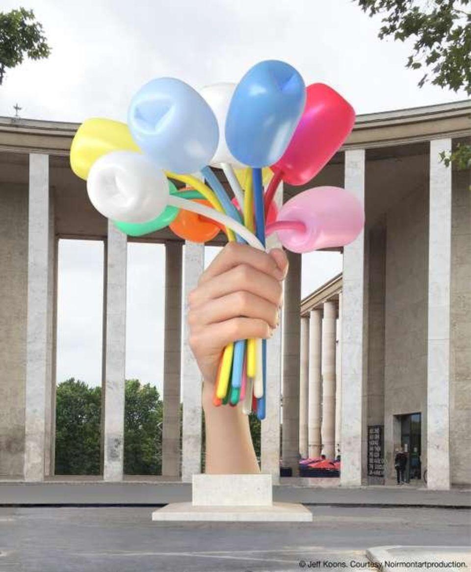 Bouquet of Flowers by Jeff Koons