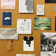 Art Fevour office bulletin board