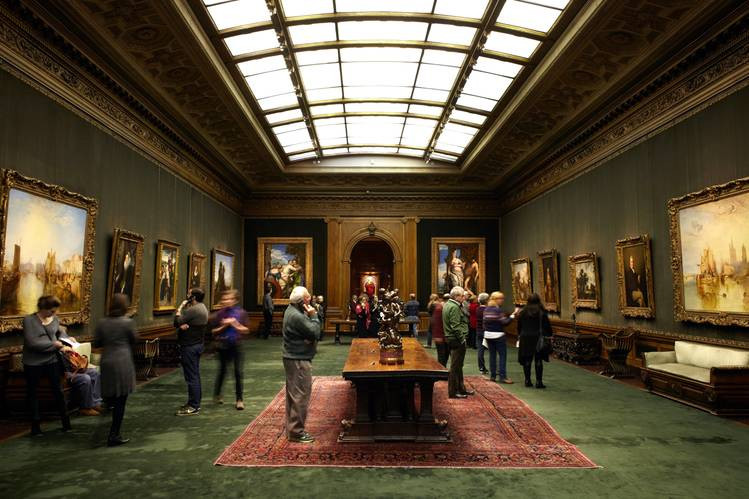The Frick Collection. Courtesy : WSJ