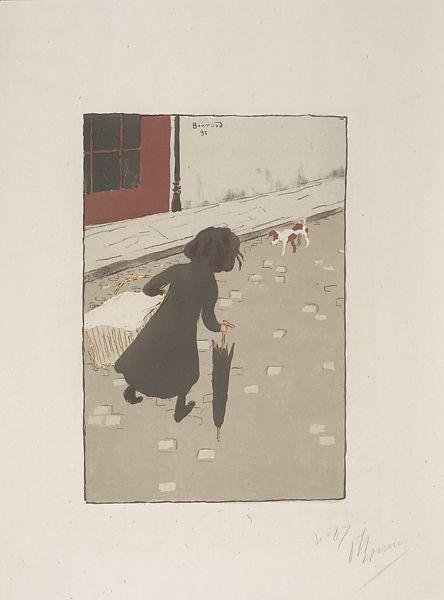 Pierre Bonnard, 'The Little Laundry Girl', 1895-96