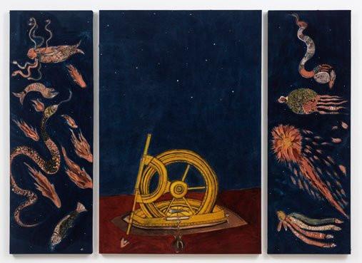 Lavanya Mani, 'Spectral Objects (triptych)', 2019