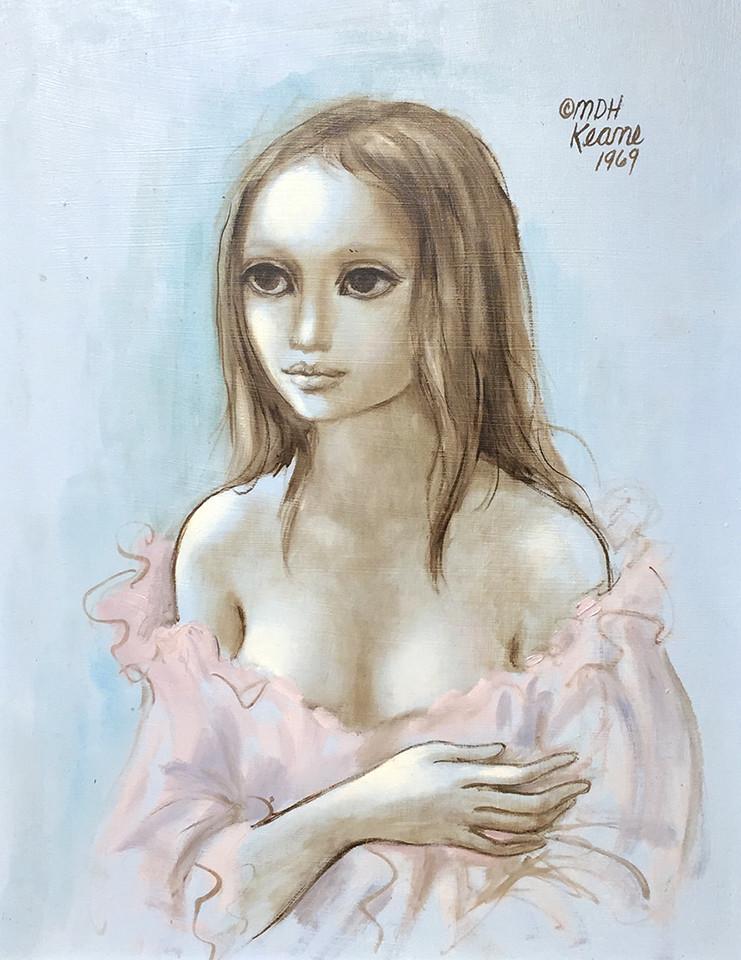 Margaret Keane, 'Nightdress', 1969