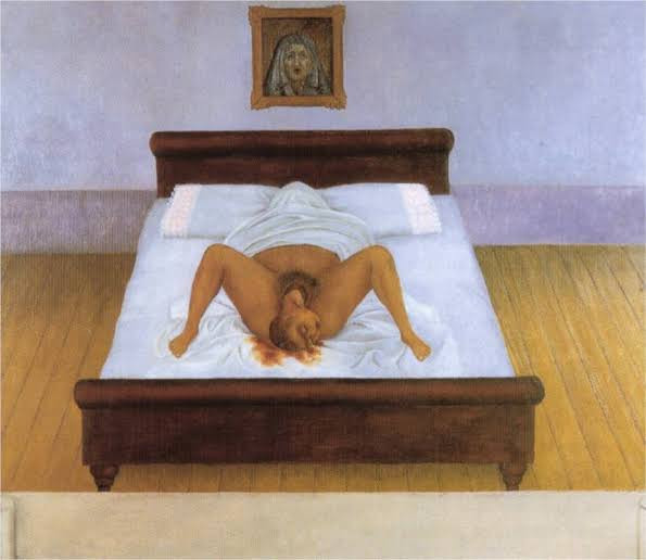 Frida Kahlo, 'My Birth', 1932