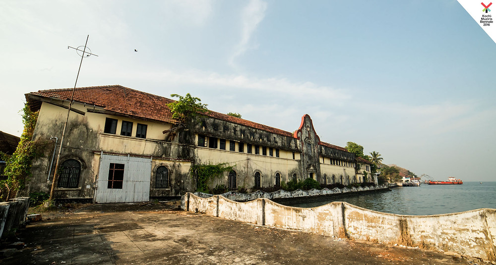 Aspinwall house, one of the locations where the Kochi-Muziris Biennale 2018 is being hosted