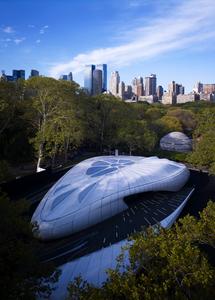 Zaha Hadid, 'Pavilion', photo by John Linden