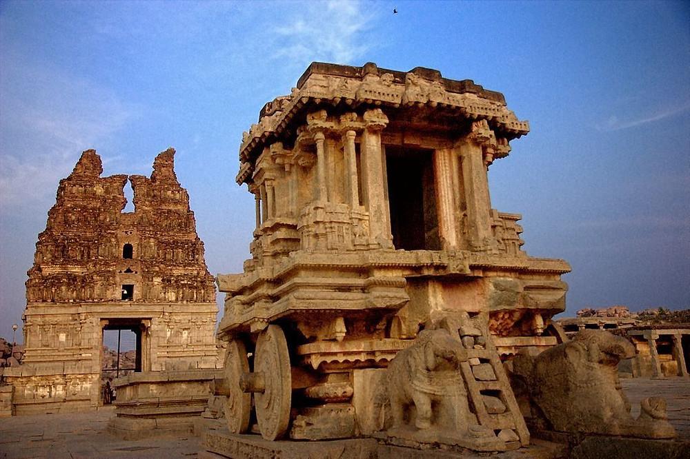 Hampi Ruins, Image credits: Go Heritage Run