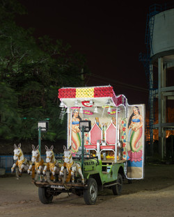 "'Night, Day. Work. Play' (I) 'Mannu' Tiruvannamalai 9th December, 2017; 36"" x 29"" Archival print on"