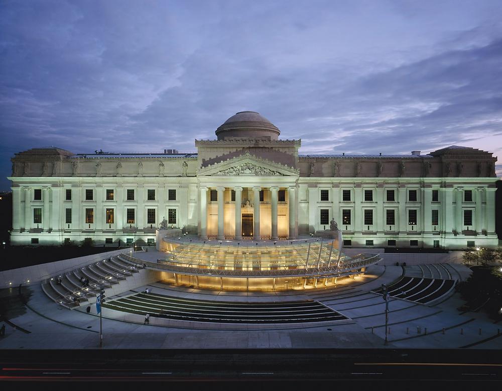 Brooklyn Museum landscape view