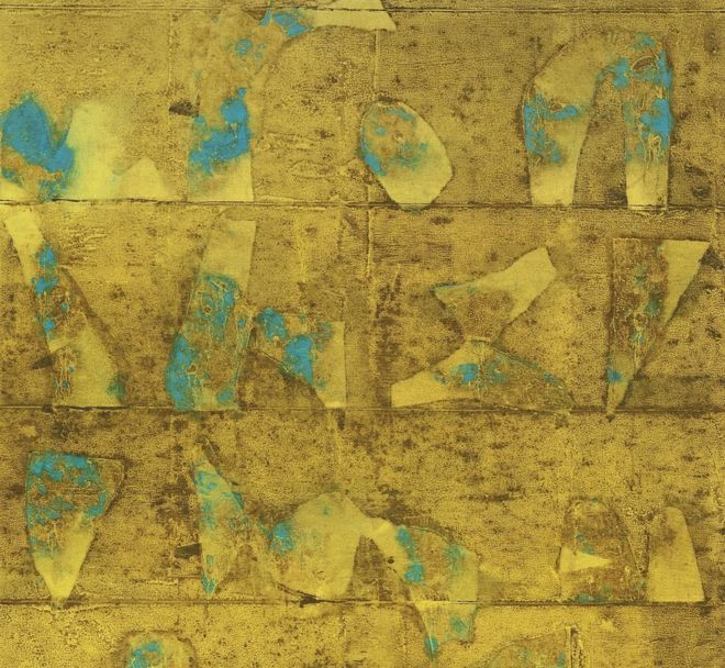 VS Gaitonde: Untitled, 1995, Image credit: BBC U.K.