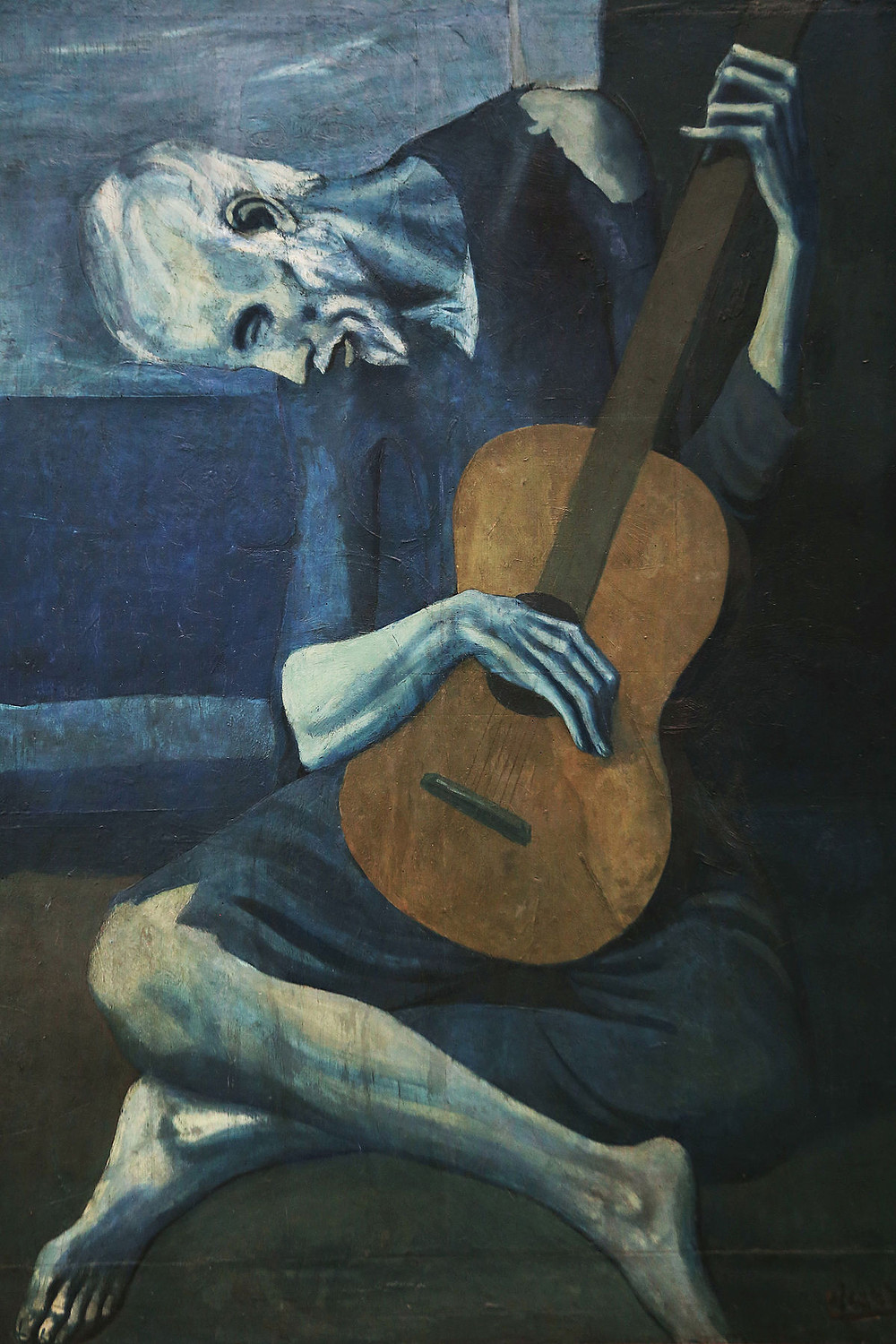 Pablo Picasso, 'The Old Guitarist', 1904