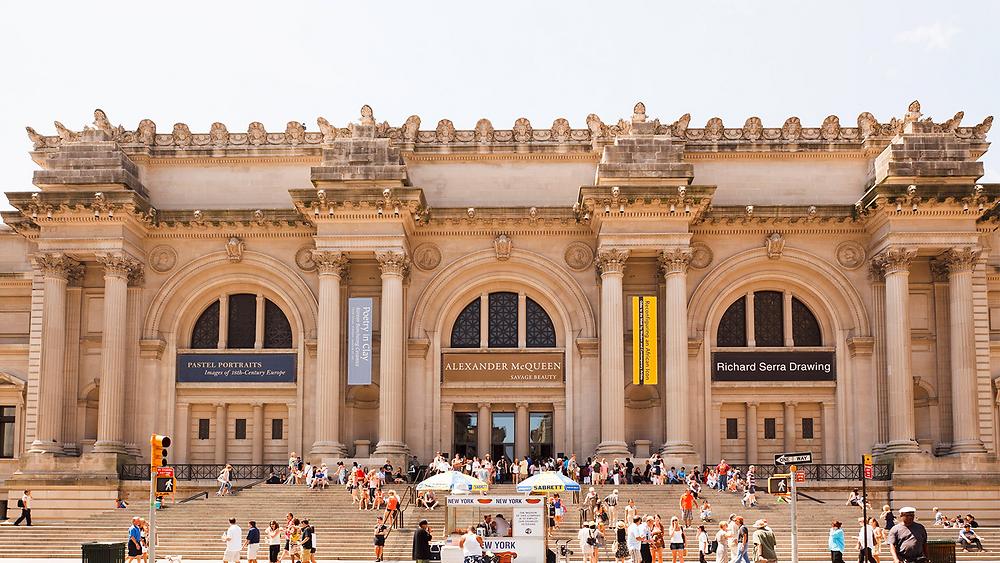 The Metropolitan Museum of Art landscape view