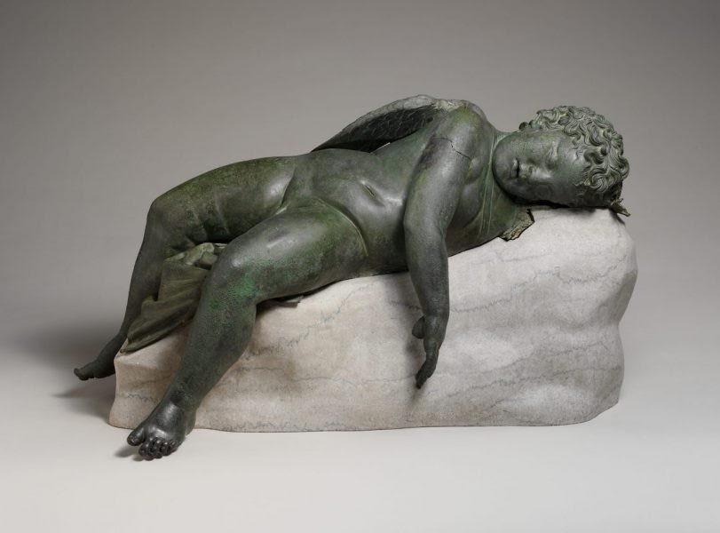 Roman Sculpture of Sleeping Eros  Image Credit: The Met Museum