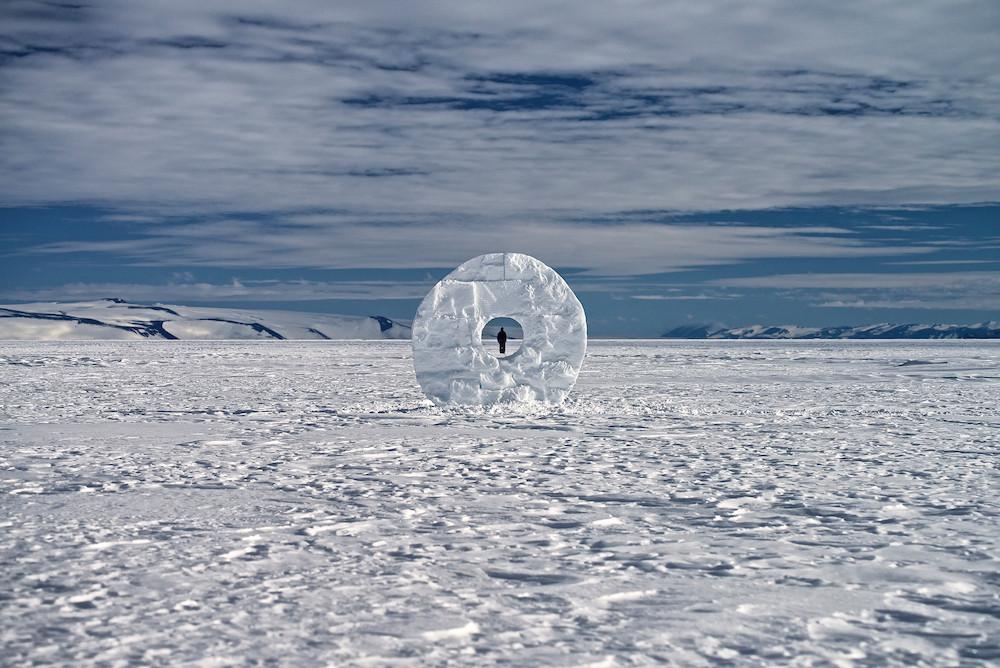 Martin Hill and Philippa Jones, 'Anthropocene', 2014, Ross Ice Shelf, Antarctica