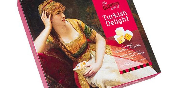 Koska Turkish Delight Coconut Hazelnut Pistachio 350Gr