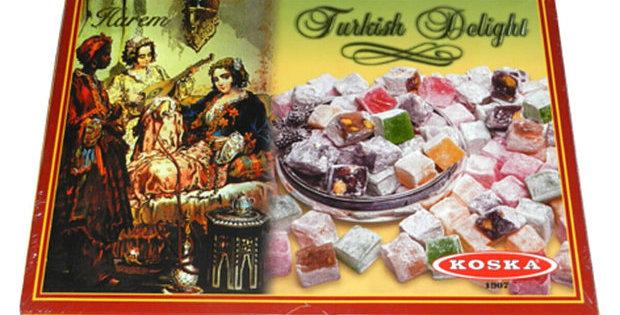 Koska Harem Cocktail Mixed Turkish Delight, 1 Kg (35.27 Oz)