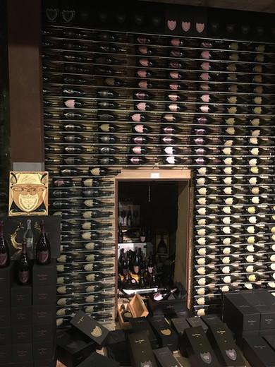 Dom Pérignon Wall - La Ciau del Tornavento