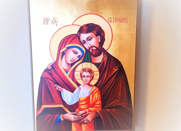 Large Holy Family Picture