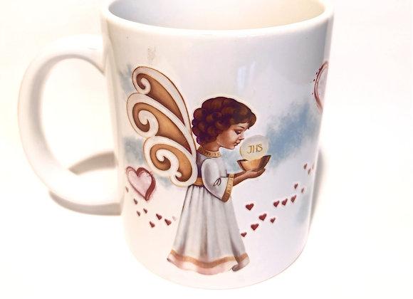 Ceramic Angel Mug