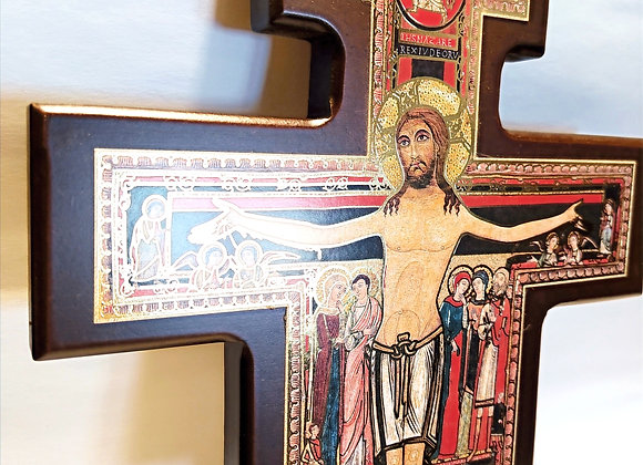 25cm San Damiano Crucifix