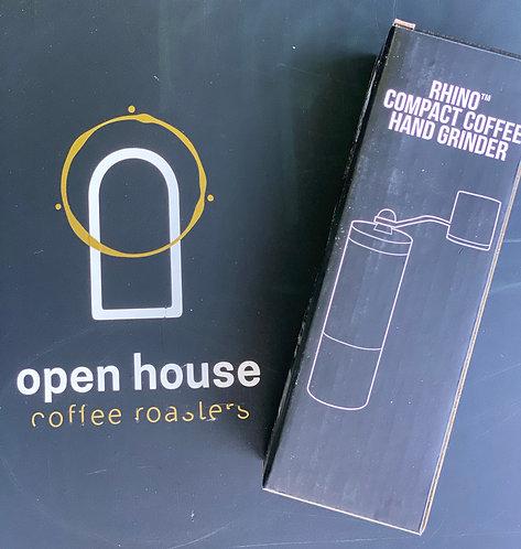 Rhino Compact Coffee Grinder