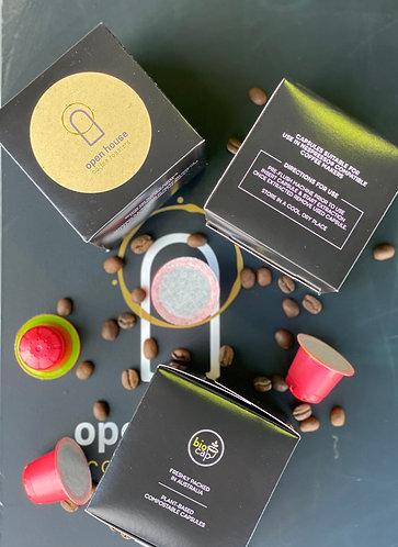 Nespresso® Compatible Capsules (Box of 10 pods)