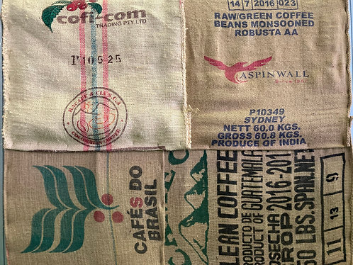 Used Hessian Coffee Bag