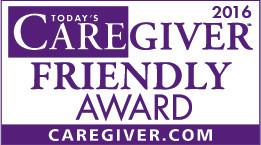 Caregiver Friendly Award