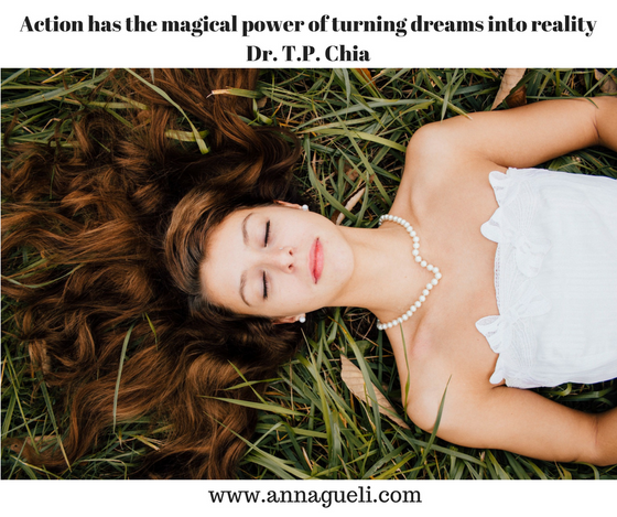 Desire/Request/Answer/Action = Dreams
