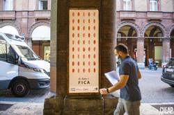 """""""LA LOTTA È FICA"""" _ poster Via Indipendenza BOLOGNA"""