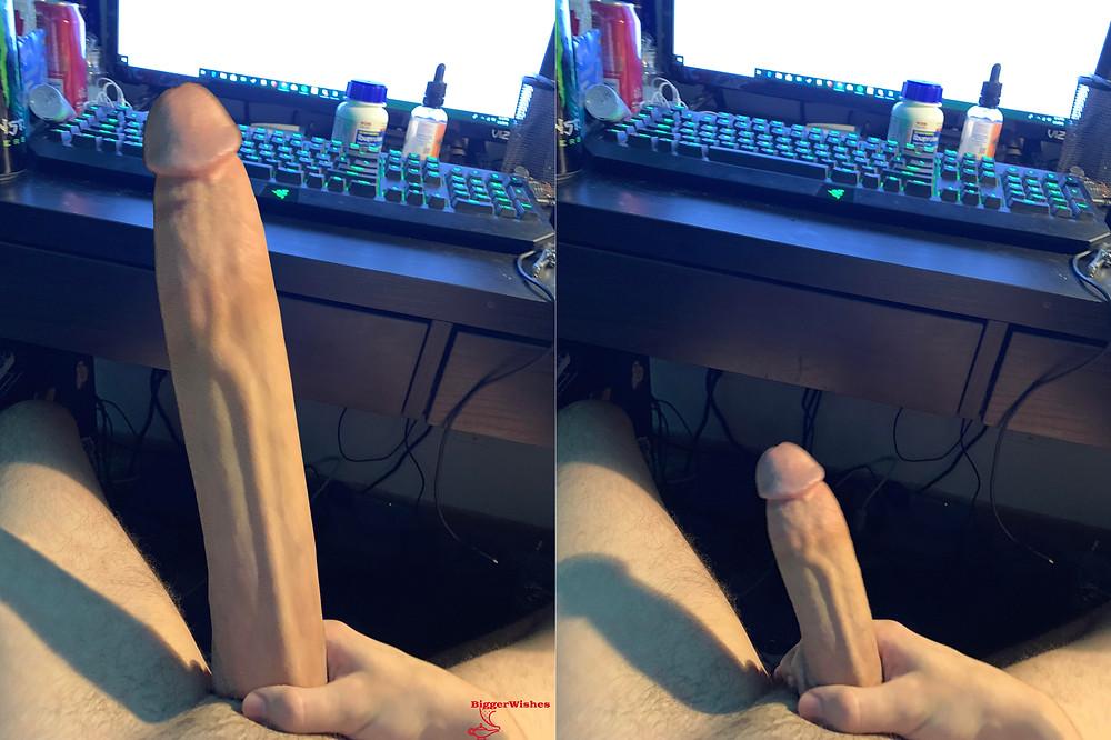 Penis expansion morph, pe, penis enlargement, dick growth, morph