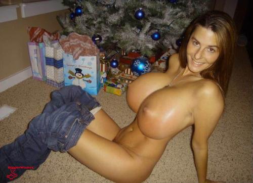 Christmas Tits