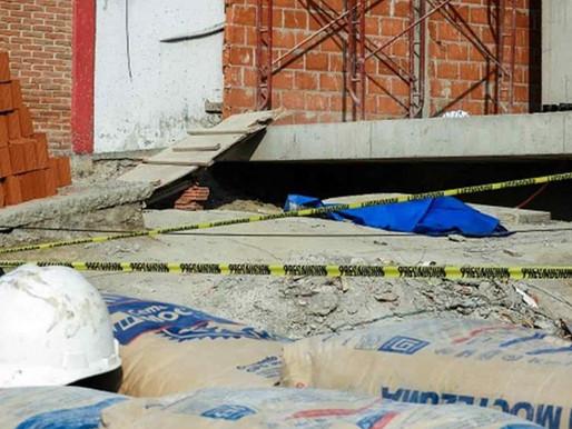 Murió obrero al caer de un edificio