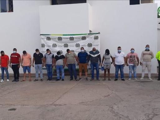 12 Policías a la cárcel por corrupción