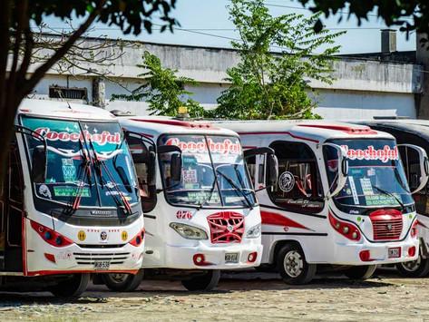 Atracan a personas que transitaban en un bus de servicio público en Soledad