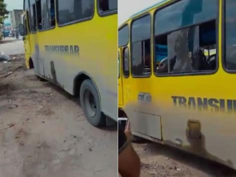 En Vídeo || Nuevo atentado contra un bus de servicio público en Soledad