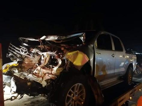En Vídeo || Así quedaron los cuerpos de los jóvenes que murieron en accidente en Gaira