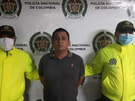 Capturan al 'Negro Ober', el hombre más buscado en el Atlántico, fue capturado en Melgar, Tolima