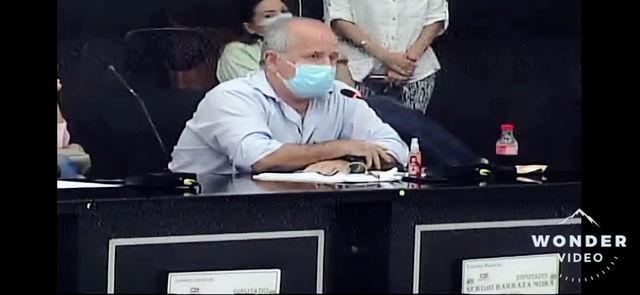 El contralor departamental aún está en cuarentena: Sergio Barraza