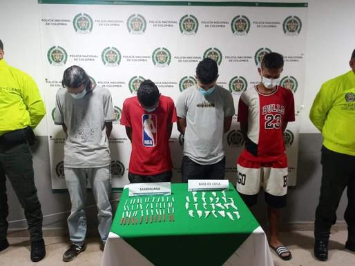 """Capturan a 5 integrantes de """"Los Caleteros"""""""